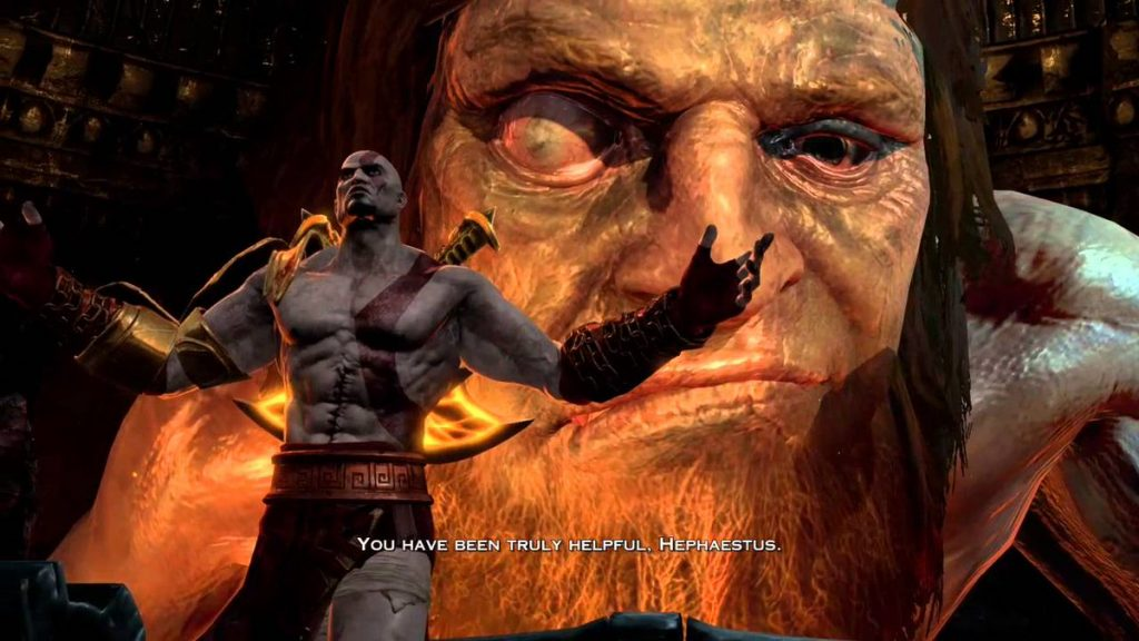 God of War 3 Hephaestus