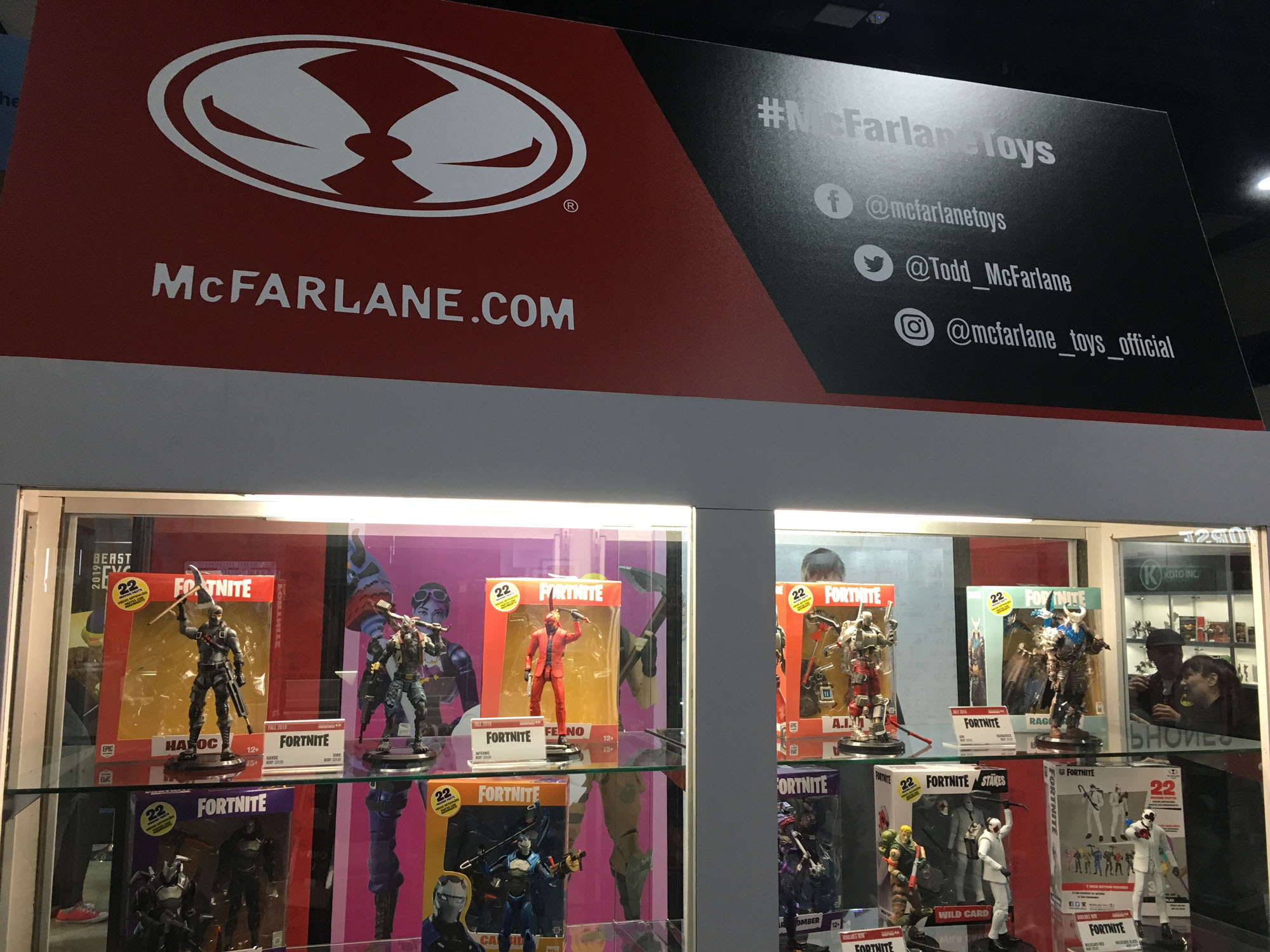 Mcfarlane Toys Mostra Novas Figuras De Mortal Kombat 11 Fortnite
