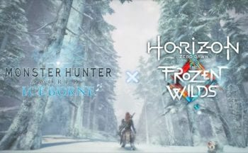 Monster Hunter World Iceborne Horizon Zero Dawn The Frozen Wilds