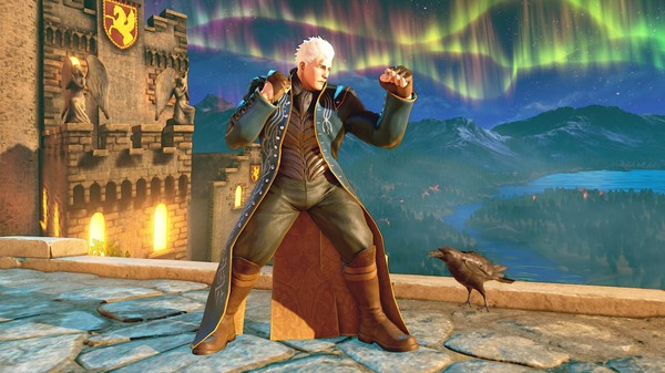 Street Fighter V Vergil
