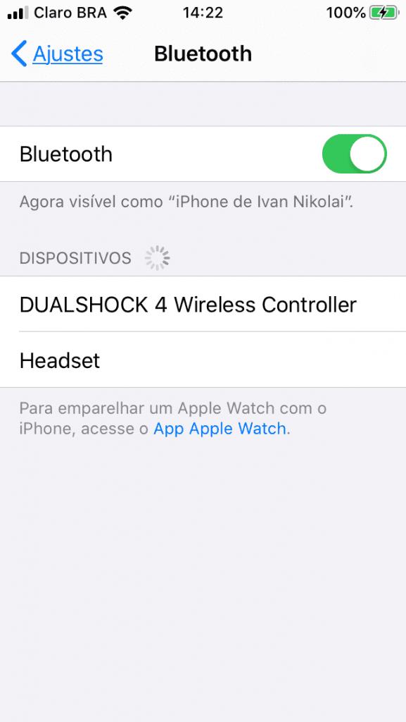 DualShock 4 iOS 13