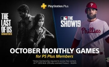 PS Plus Outubro 2019