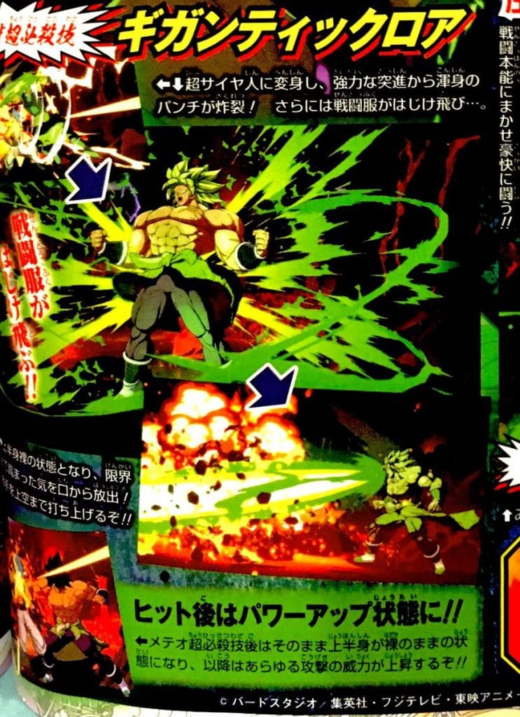Broly (DBS) em Dragon Ball FighterZ