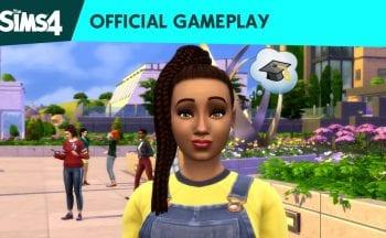 """""""Vida Universitária"""" de The Sims 4"""
