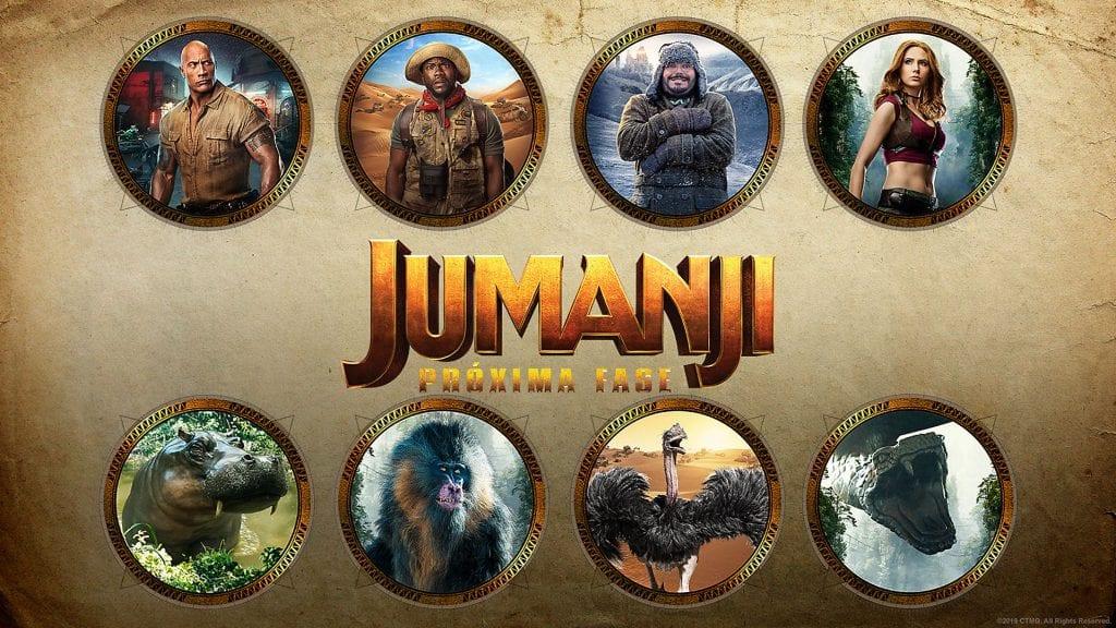 Jumanji Avatares