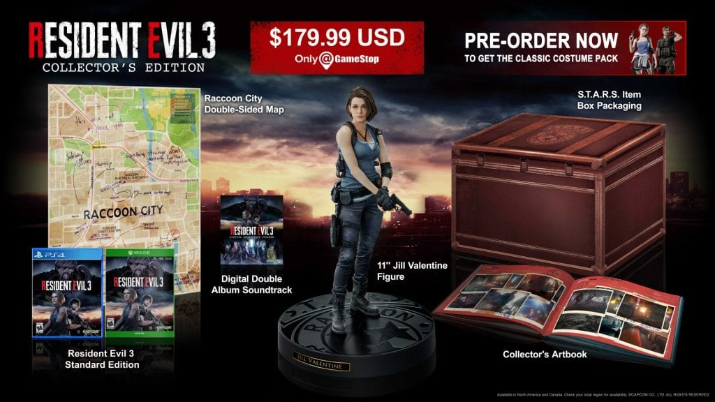 RE3 Collectors Edition