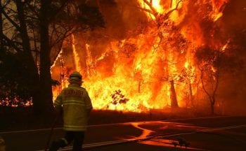 Incêndio Austrália