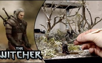 The Witcher 3: Wild Hunt Diorama