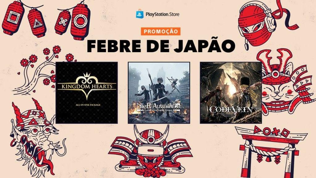 PS Store Febre de Japão