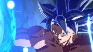 Goku (Instinto Superior) em Dragon Ball FighterZ