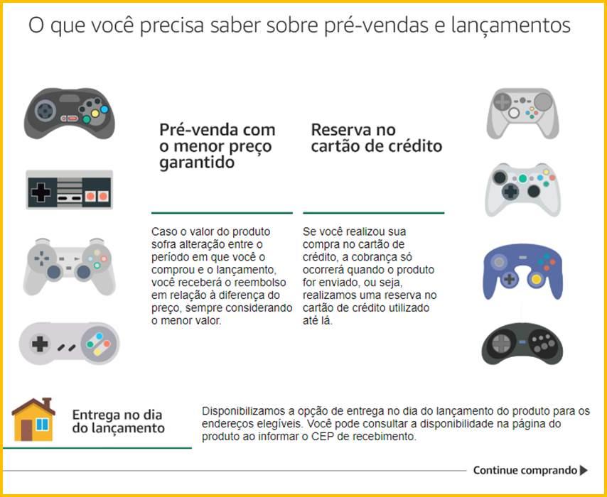 Amazon Pré-Venda