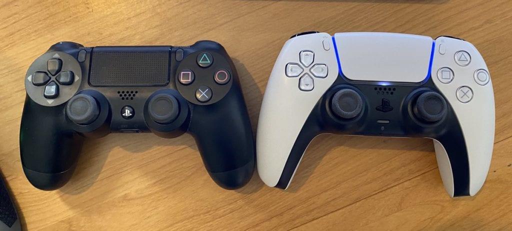 DualShock 4 x DualSense