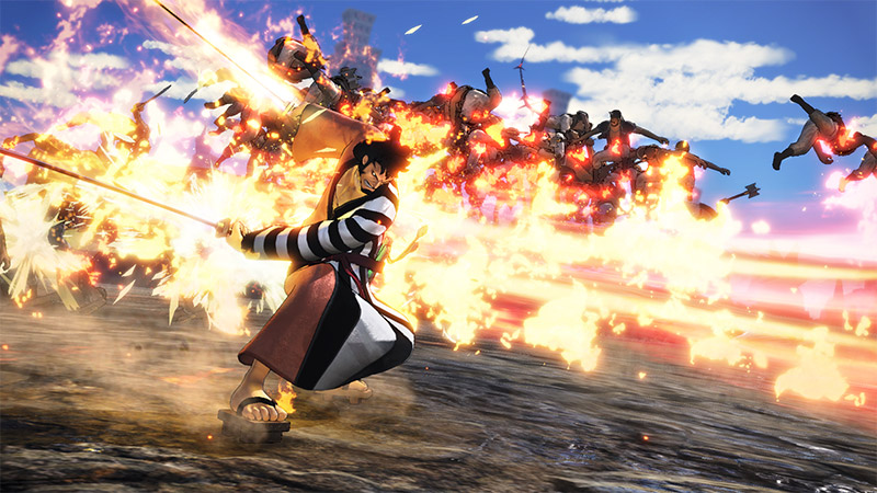 Kin'emon de One Piece: Pirate Warriors 4