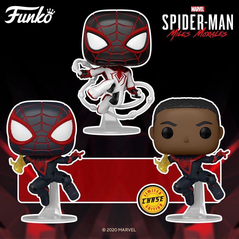 Marvel's Spider-Man: Miles Morales Funko