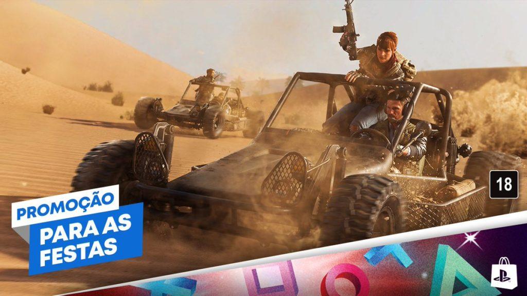 Promoção Para as Festas PS Store