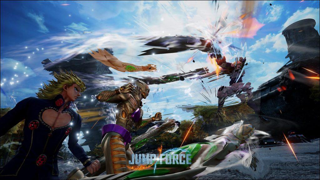 Giorno Giovanna Jump Force
