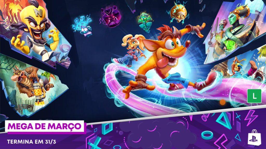 PS Store Mega de Março