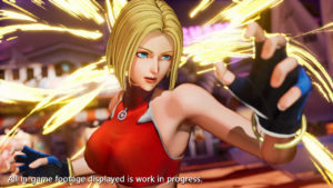 The King of Fighters XV Blue Mary
