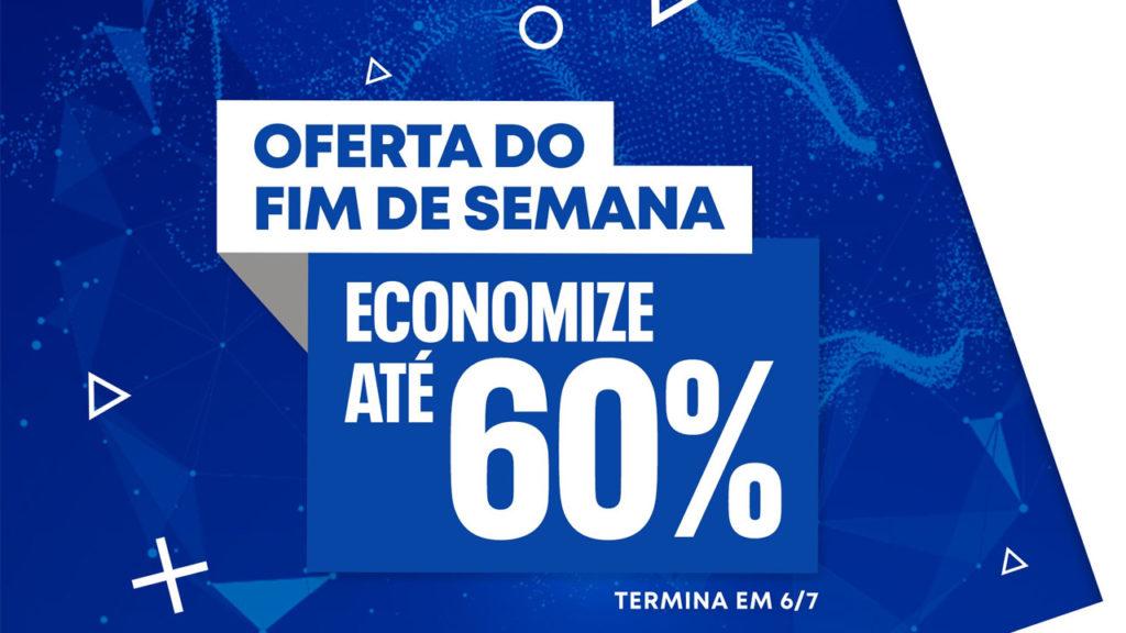 PS Store Oferta do Fim de Semana