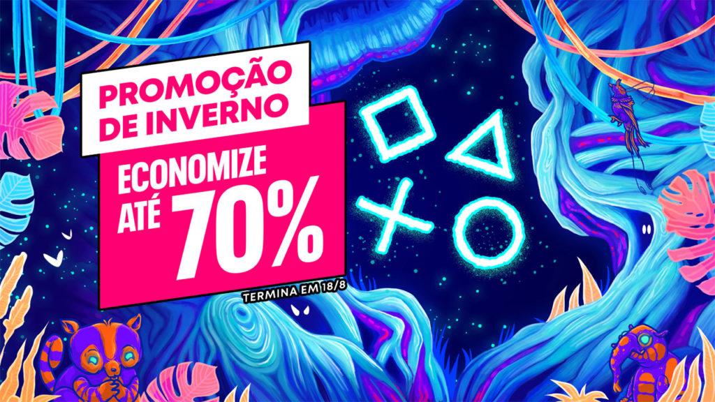 PS Store Promoção de Inverno