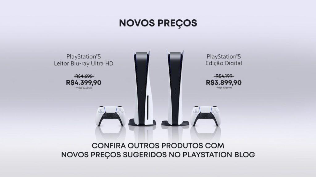 PS5 Preço